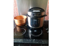 5L Pressure King Pro Copper 12-in-1 Digital Pressure Cooker