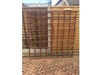 Lattice work Fence Panel