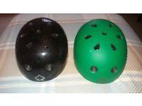 2 Pro Tec Skateboard helmets