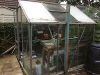 Greenhouse 7' x 7' FREE to collector