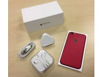 Boxed Red Apple iPhone 6 16GB Factory Unlocked Mobile Phone + Warranty
