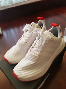 NMD R2 PK white and red colourway