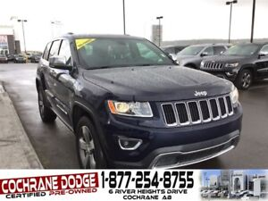 2016 Jeep Grand Cherokee Limited - LEATHER/ROOF/NAV- CHECK OUT T