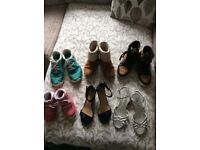 Shoes size 3&4 and toddler 10