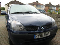 Renault Clio 1.2 16V Petrol 2001 **ONLY 31,000 Low Miles**