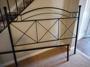 Headboard foot board and bed rails