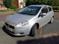 Fiat Punto Grande, 2010, low miles, 12 months MOT, reliable, 3 door, HPI clear