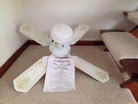 White Ceiling Fan