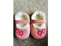 Monsoon toddlers slippers 18-24 months