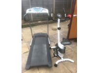 Lonsdale exercise bike with hand pulse