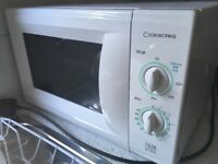 White Cookworks Microwave