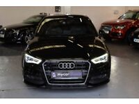 AUDI A3 1.4 TFSI S LINE 5DR Manual (black) 2013