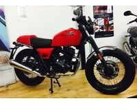 New Brixton BX 125 R Cafe Racer, Euro 4 125cc Motorcycle - Finance Available - £3099 OTR