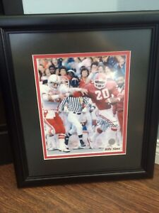 Billy Sims Autographed Photo