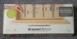 Drawer Decor 16 Piece Organizer