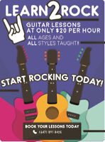 Guitar Lessons in Scarborough. Book a free trial lesson today!
