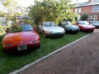 Mazda MX5 mx 5 mx-5. Five low mileage Mk1's available from £1500. All up and ready to go. In VGC+