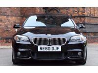 2010 BMW 5 SERIES 2.0 520D M SPORT 4d 181 BHP