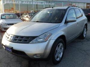 2003 Nissan Murano SL AWD,sold as it is