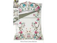 Floral Cotton Double Bed Set from Next