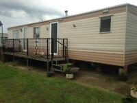 Caravan available to rent in thornwick bay haven site