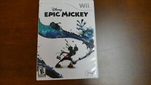 Epic Mickey for Wii.