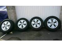 VW T5 Alloys and Tyres