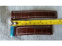 24mm  Unbranded Strap To Fit all good navitimer type chronographs/watches with 24mm lugs