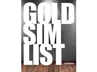Selection of GOLD SIM Mobile Numbers - See list >>>>>>>>>>>>>