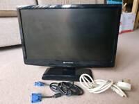 """20"""" Packard Bell Computer Monitor"""