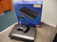 Sony Playstation 3 500GB W/controller&Box