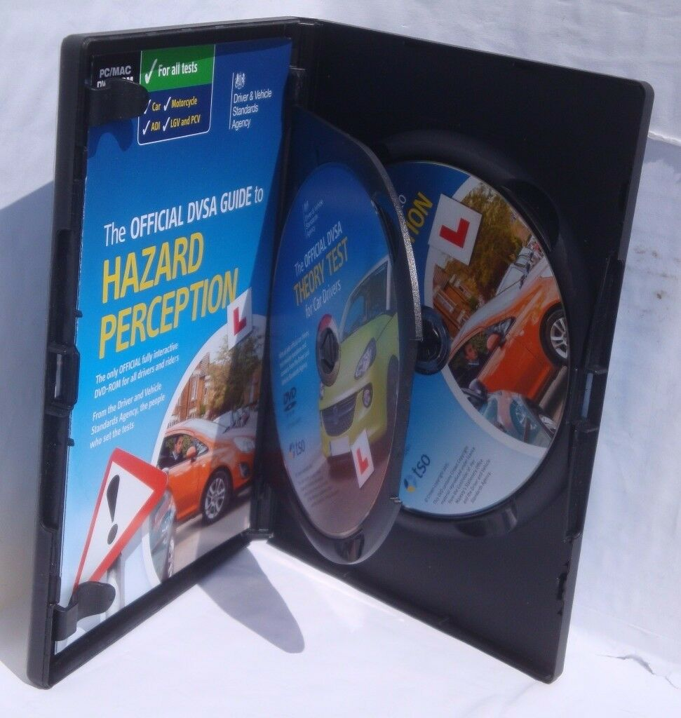 The Official DVSA Complete Theory Test Kitin Cookstown, County TyroneGumtree - The Official DVSA Complete Theory Test Kit (2 discs). Have been used but in great condition. Includes mock tests which have the same questions which you will need for the real test. Also, 14 clips of Hazard Perception which is an important part of...