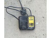 Dewalt XR Multi-Voltage Charger 10.8, 14 & 18 Volt Li-Ion, Working order, No offers or time wasters