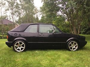 Vw rabbit mk1 convertible. 2L 16V performant