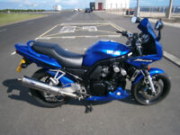 Yamaha Fazer 2002