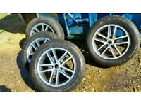 5x127 r18 alloy wheels jeep grand cherokee chruser S limited edition