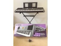 Yamaha Digital Keyboard. PSR E 353. With stand.