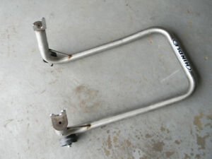 HINDLE STAINLESS STEEL REAR MOTORCYCLE STAND fits 600-1000