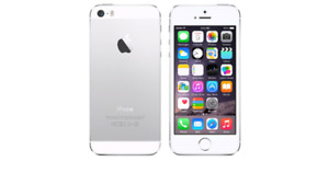 iPhone 5 16GB silver Bell/Virgin works perfectly in excellent