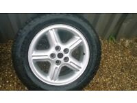 landrover alloy wheel and tyre