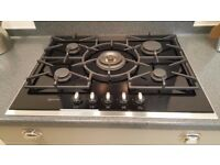 Neff T67S76N1 black gas hob - ex-display
