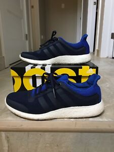 Pure Boost Blue Adidas blue size 11 mens shoes