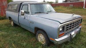1985 Dodge Ram 150 Custom 146204 Original Kilometers