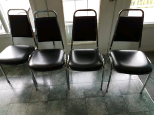 Four sturdy chairs!