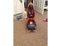 Used once Vax carpet cleaner Power max