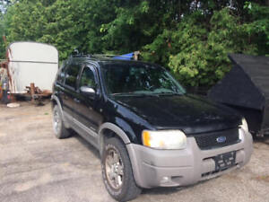 2001 Ford Escape XLT SUV, Crossover