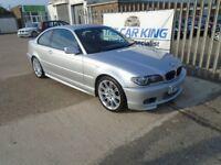 BMW 3 SERIES 3.0 330Cd Sport 2dr (silver) 2005