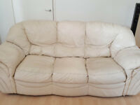 3 seater sofa and matching sofa armchair FOR FREE!