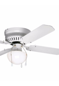 brand new white ceiling fan for sale $40