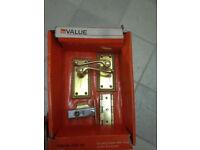 Internal Door Handle, New & Boxed. from B&Q. Brass Metal